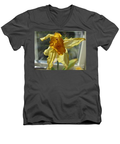 Will You Still Love Me Tomorrow? Men's V-Neck T-Shirt by Martin Howard
