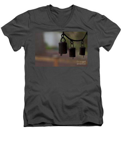 Wind Chimes Men's V-Neck T-Shirt