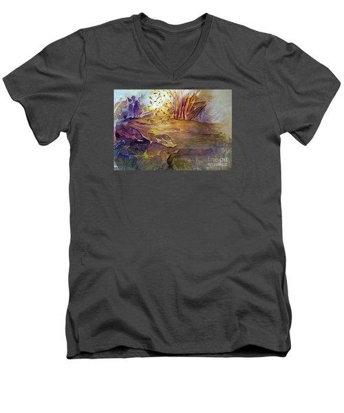 Wind In Fall Men's V-Neck T-Shirt