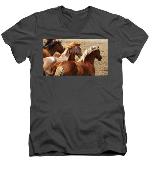 Wind Spirits Men's V-Neck T-Shirt