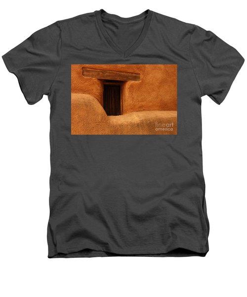 Window Detail Degrazia Mission In The Sun Men's V-Neck T-Shirt
