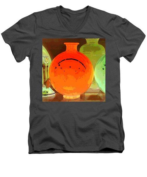 Window Shopping For Glass Men's V-Neck T-Shirt