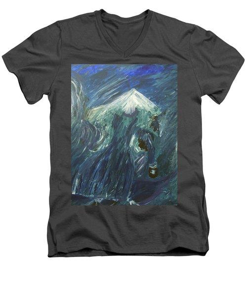 Winds Of Love Men's V-Neck T-Shirt