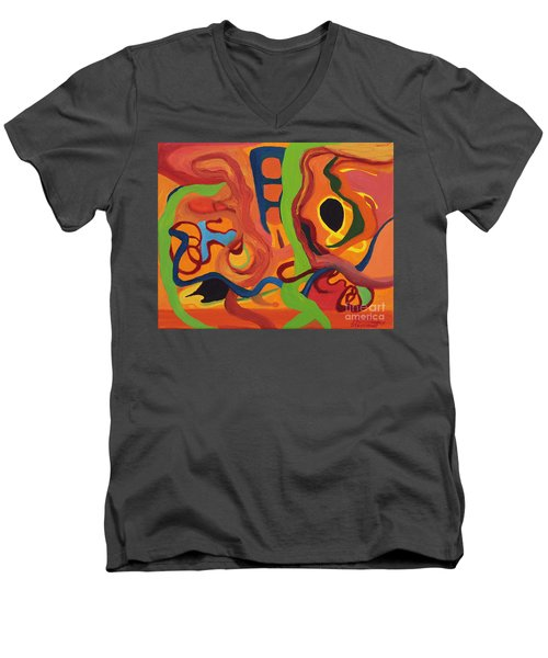 Windy City Men's V-Neck T-Shirt