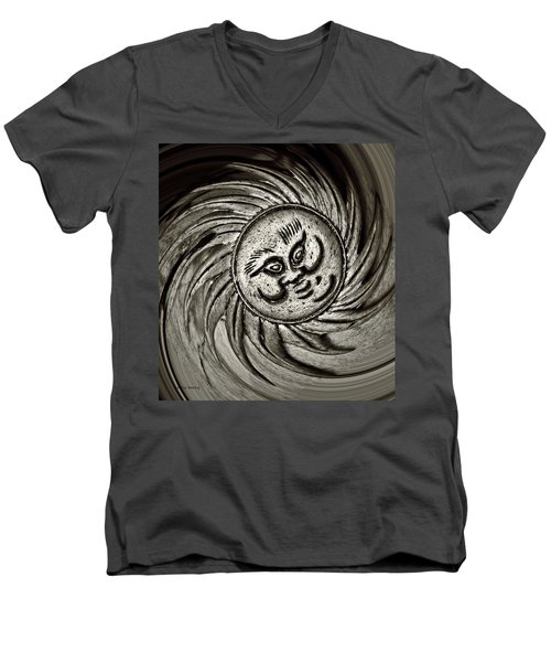 Windy Sun  Men's V-Neck T-Shirt