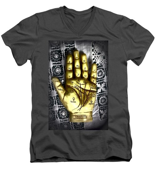 Winning Hand Men's V-Neck T-Shirt