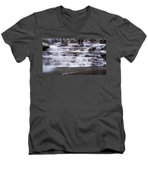 Winter Fall Men's V-Neck T-Shirt