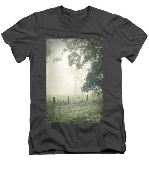 Winter Morning Londrigan 9 Men's V-Neck T-Shirt