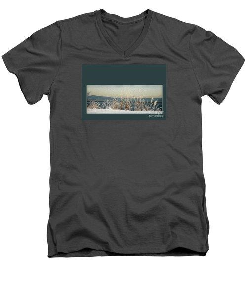 Winter Weeds Men's V-Neck T-Shirt