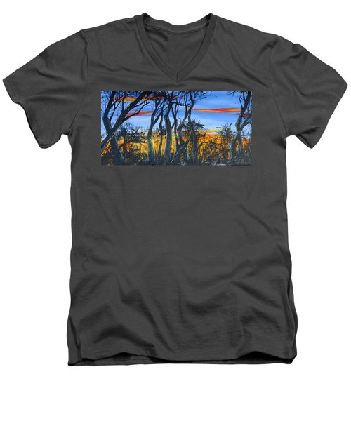 Wisconsin Creek Spooks Men's V-Neck T-Shirt