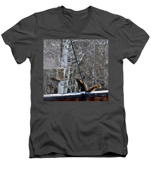 Wishin' 'n Hopin' Men's V-Neck T-Shirt