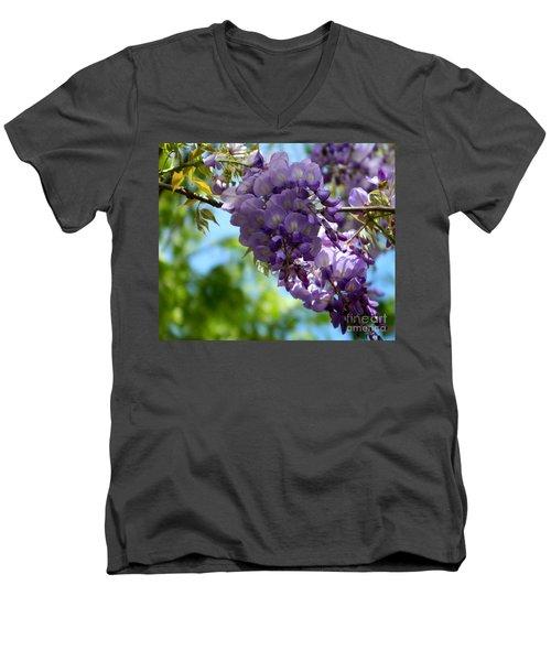 Wisteria Men's V-Neck T-Shirt