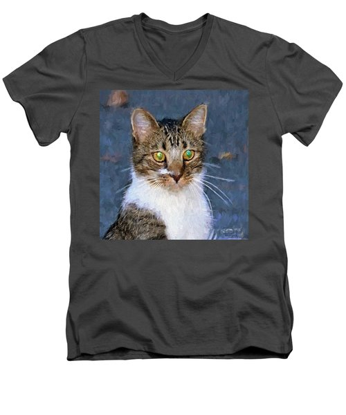 With Eyes On Men's V-Neck T-Shirt
