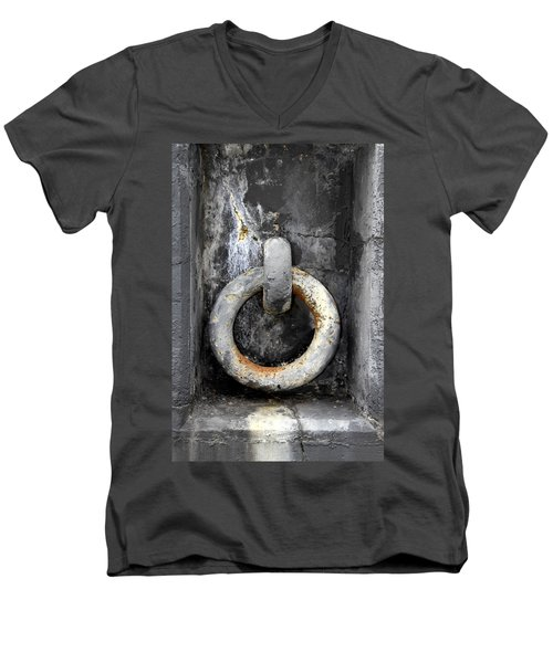 With This Ring In Key West Men's V-Neck T-Shirt
