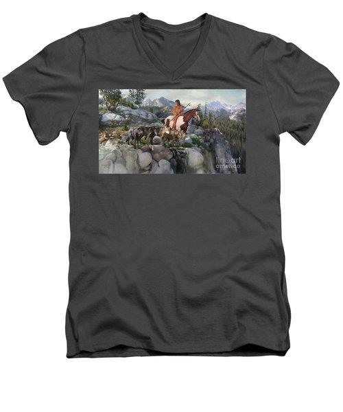 Wolf Maiden Men's V-Neck T-Shirt