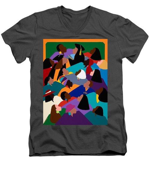 Women Lifting Their Voices Men's V-Neck T-Shirt