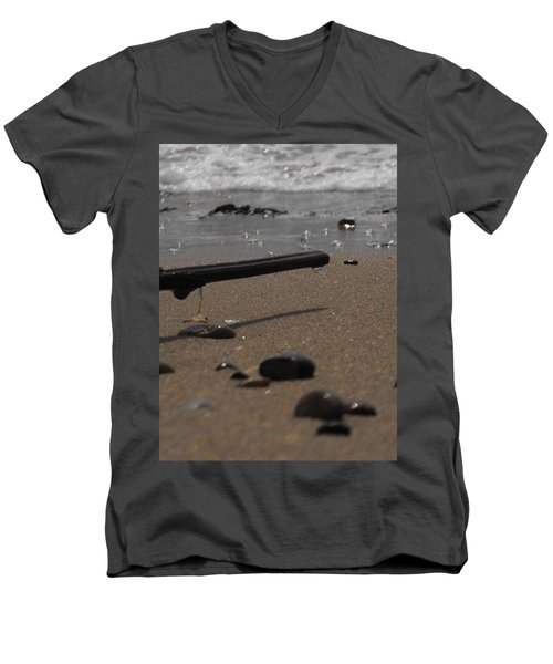 Wonder On This Beach Men's V-Neck T-Shirt