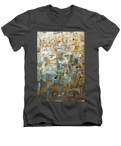 Wonders Of The World 1 Men's V-Neck T-Shirt