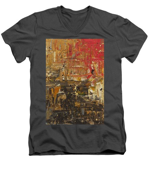 Wonders Of The World 2 Men's V-Neck T-Shirt
