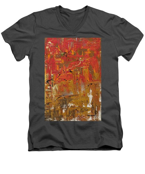 Wonders Of The World 3 Men's V-Neck T-Shirt