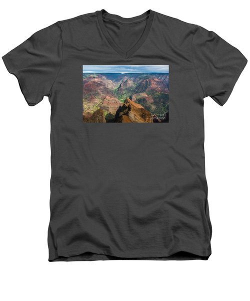 Wonders Of Waimea Men's V-Neck T-Shirt