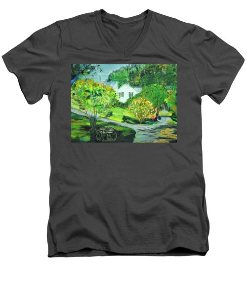 Wooden Duck Inn Men's V-Neck T-Shirt