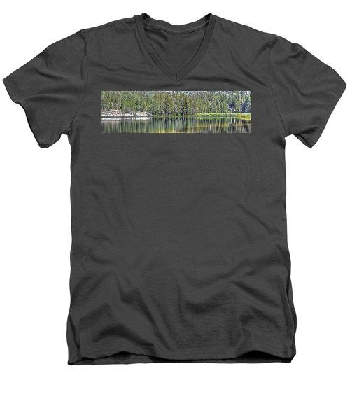 Woods Lake 4 Men's V-Neck T-Shirt