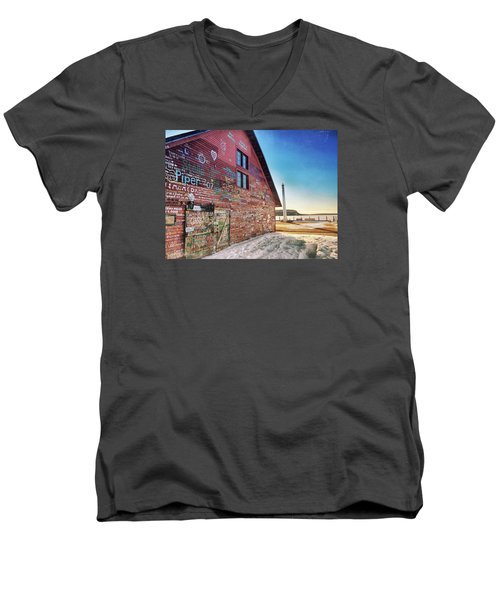 Writing On The Wall Men's V-Neck T-Shirt