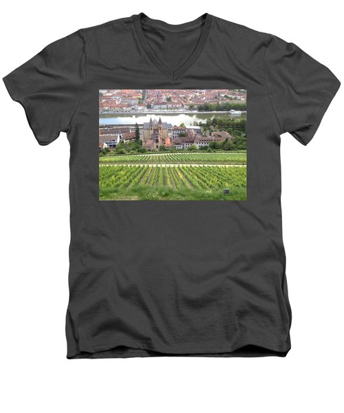 Wurzburg Men's V-Neck T-Shirt by Pema Hou