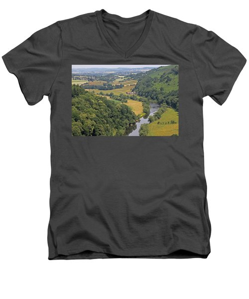 Wye Valley Men's V-Neck T-Shirt