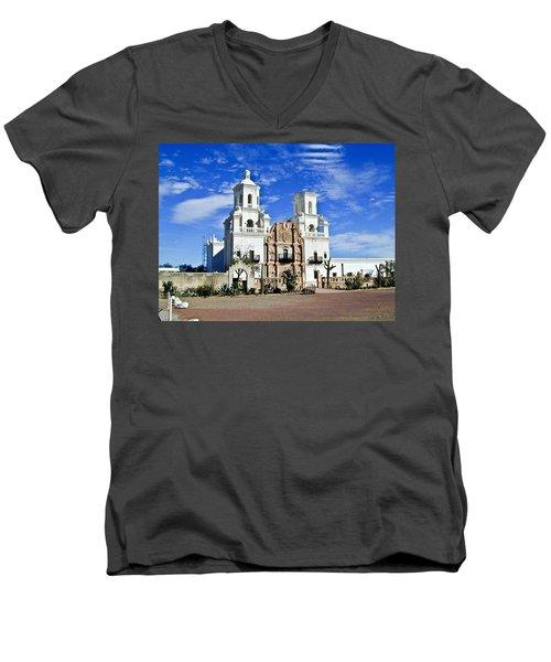 Xavier Tucson Arizona Men's V-Neck T-Shirt