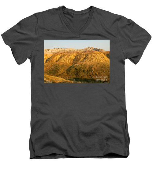 Yellow Mounds Overlook Badlands National Park Men's V-Neck T-Shirt