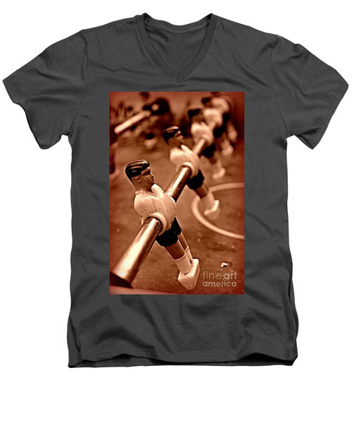 Yesterdays Toys Men's V-Neck T-Shirt