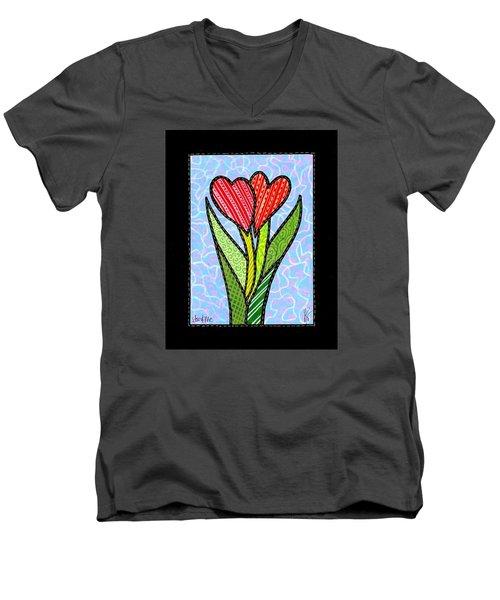 You And Me Men's V-Neck T-Shirt