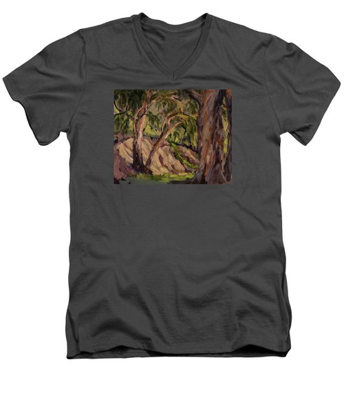 Young And Old Eucalyptus Men's V-Neck T-Shirt