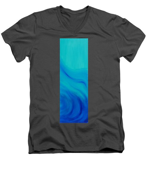 Your Wave Men's V-Neck T-Shirt by Mark Minier
