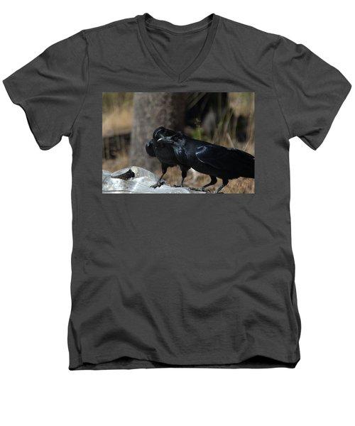 You've Got Something On Your Beak Men's V-Neck T-Shirt