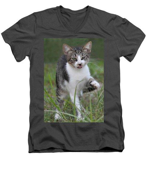 Yuck Men's V-Neck T-Shirt