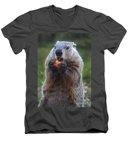 Yum-yum Men's V-Neck T-Shirt