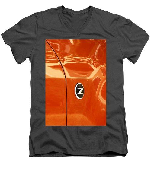 Z Emblem P Men's V-Neck T-Shirt