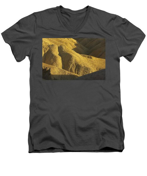 Men's V-Neck T-Shirt featuring the photograph Zabriski Point #4 by Stuart Litoff