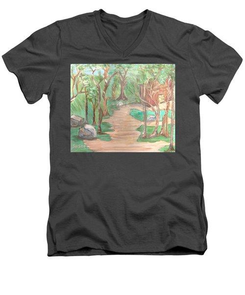 Zen House Men's V-Neck T-Shirt