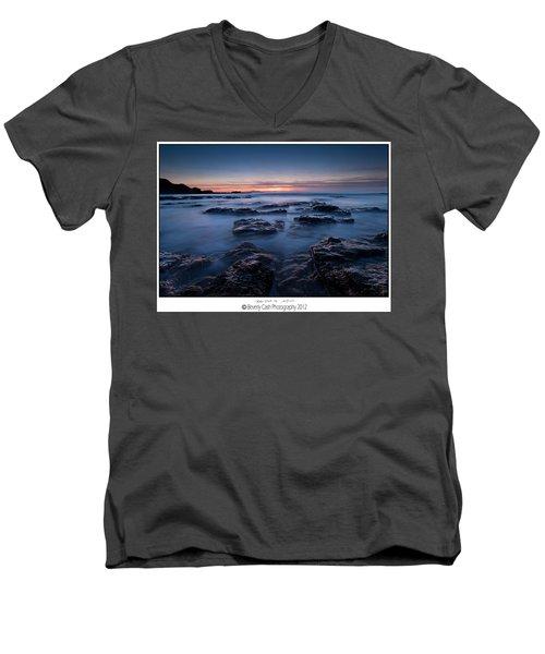 Blue Dusk Men's V-Neck T-Shirt