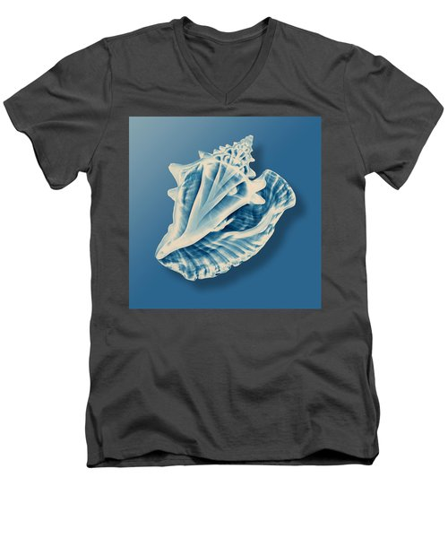 X-ray Of A Conch Shell Men's V-Neck T-Shirt