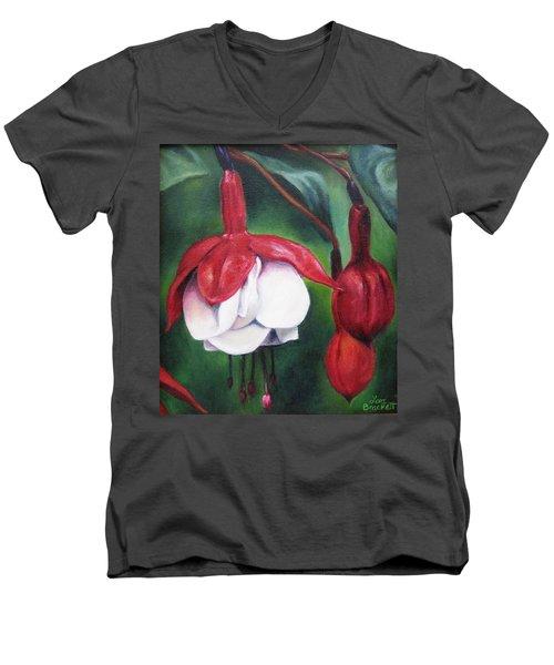 Big Bold And Beautiful Men's V-Neck T-Shirt