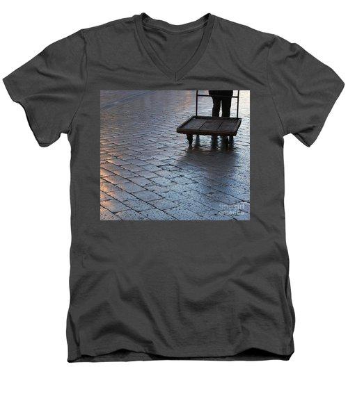 Colors Of Light Men's V-Neck T-Shirt