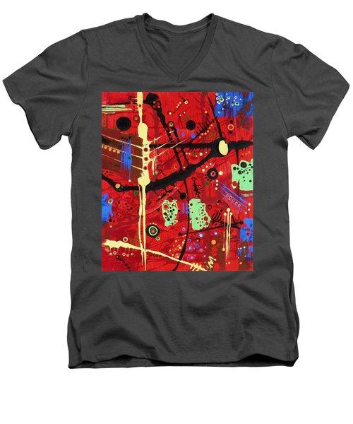 Dia De Muertos Men's V-Neck T-Shirt