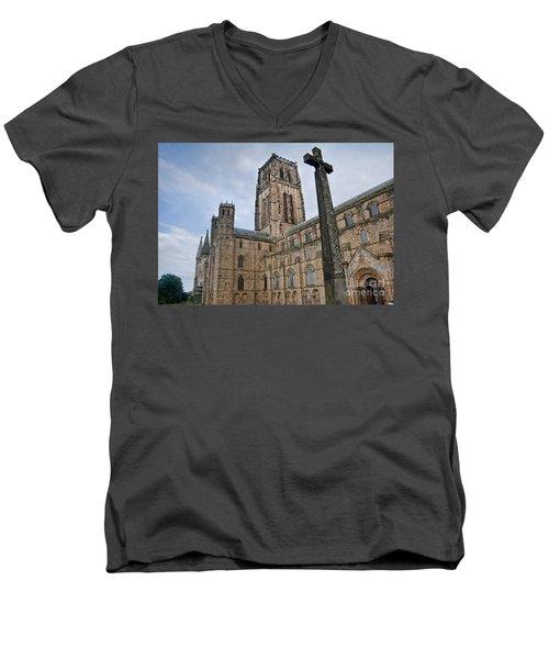 Durham Cathedral Men's V-Neck T-Shirt
