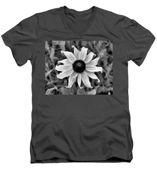 Men's V-Neck T-Shirt featuring the photograph Flower by Brian Hughes