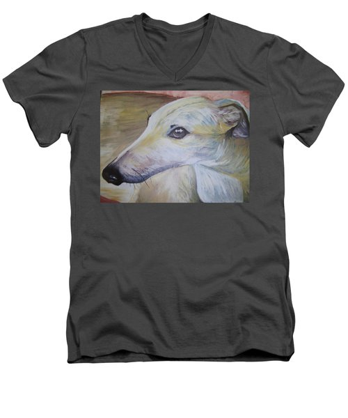 Greyhound Men's V-Neck T-Shirt